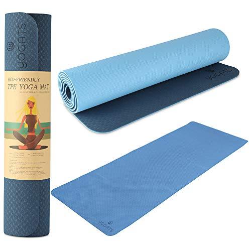 Yogats Eco – Friendly Yoga Mat   Premium Non – Slip Waterproof Pad for Women & Men Yogis, Workout, Gym, Fitness…