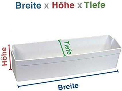 NUOVO FRIGORIFERO ORIGINALE abstellfach türfach 105mm verticale Bosch Siemens 00671206