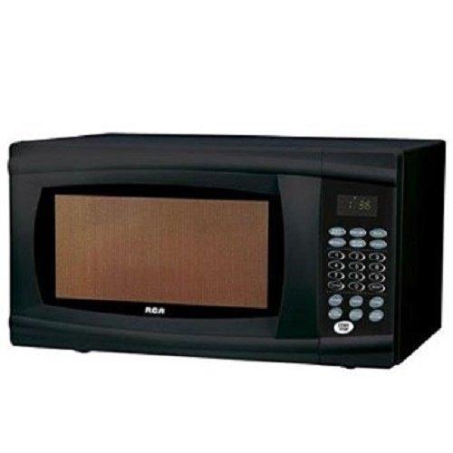 RCA 1.1 Cu Ft Microwave, Black Rmw1112-black (Certified Refurbished)