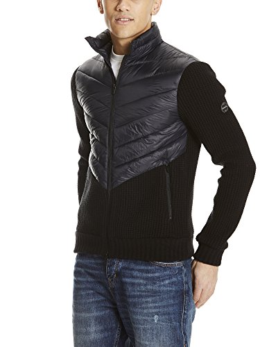 Chaqueta Jacket Bk11179 Beauty Hombre Negro Padded para Bench Black ZEnwSfzqxx