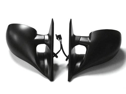 PROMOTORING For 92-98 BMW E36 3-Series 4DR M3 Style Metal Base Power Side Mirrors - Pair