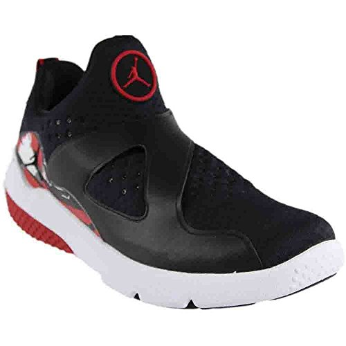 Jordan Men's Trainer Essential Running Shoe Black/Black-White-Gym Red 12 by Jordan