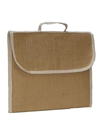 Plain Jute Book Bags x 10: Amazon.co.uk: DIY & Tools