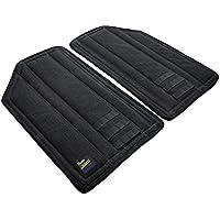 5pmClouds DNIK (Black Denim) Hardtop Headliner and Roof Insulation Kit for Jeep JK Wrangler Unlimited 4-Door (2011-2018) - Black