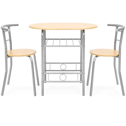 dining set with wine rack - 7