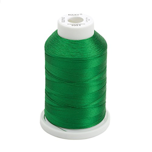 Sulky Of America 268d 40wt 2-Ply Rayon Thread, 1500 yd, Christmas Green