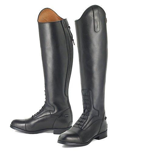 Ovation Ladies Flex Sport Black Field Boot, 11 by Ovation