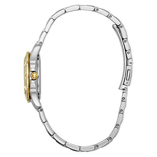 Citizen Women's 'Diamond' Quartz Stainless Steel Casual Watch (Model: EW2364-50A) by Citizen (Image #1)