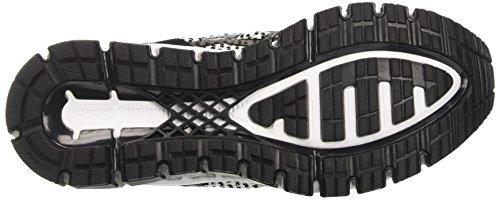 white black silver Negro Knit Asics Mujer De Gel Zapatillas Para Entrenamiento 360 quantum qO7waRnOPv