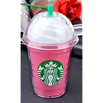 2016 Cdsmaan Starbucks power bank 5200mAh portable charger For Samsung and iphone 5 5S 6 iPhone6 plus External backup battery (Pink)