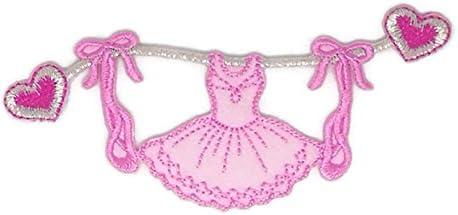 Disfraz de ballet con dibujos bordados para coser o planchar ...