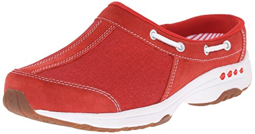 Easy Spirit Women's Travelport Mule, Medium Red, 6 M US