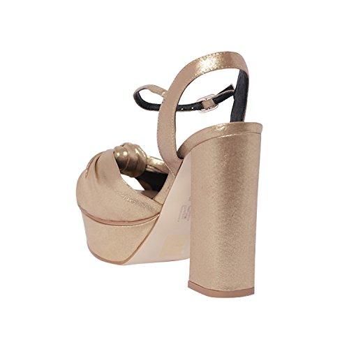 bibi lou Women's Fashion Sandals Platino fw9ab3q