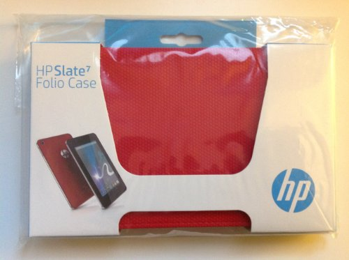 Original HP Slate 7 Folio Red Case For HP Slate 7 Folio 7