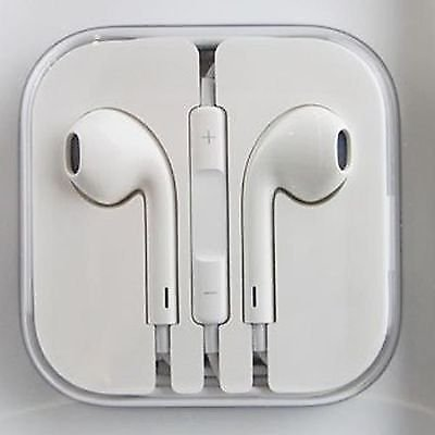 Apple Handsfree Earphones with Remote and Mic for Apple iPhone 6/6  Plus/5/5s(White)