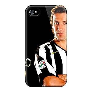 Excellent Design The Attacker Of Sydney Alessandro Del Piero Phone Case For Iphone 4/4s Premium Tpu Case