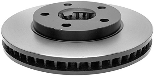 (ACDelco 18A812A Advantage Non-Coated Front Disc Brake Rotor)