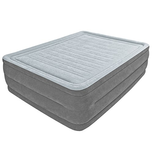 Intex Comfort Plush Elevated Dura-Beam Airbed, Bed Height 22