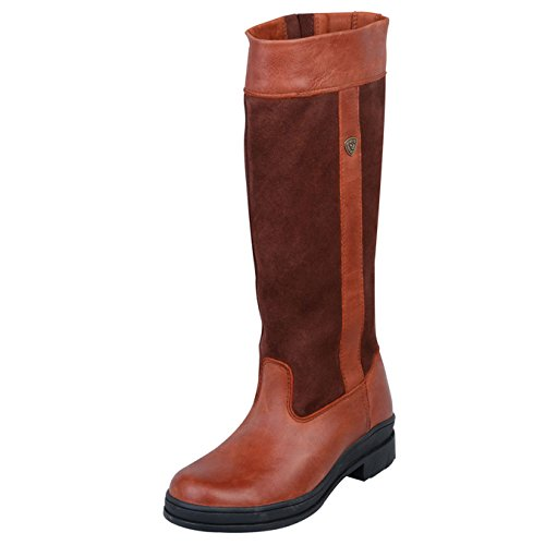 Ariat Windermere Full Fit Boot Chocolate LIKGO