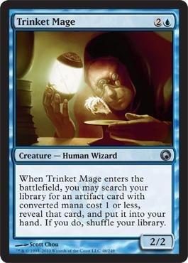 Magic: the Gathering - Trinket Mage - Scars of (New Trinket)
