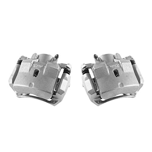 Assembly Caliper (CCK01480 [ 2 ] FRONT Premium Grade OE Semi-Loaded Caliper Assembly Pair Set)
