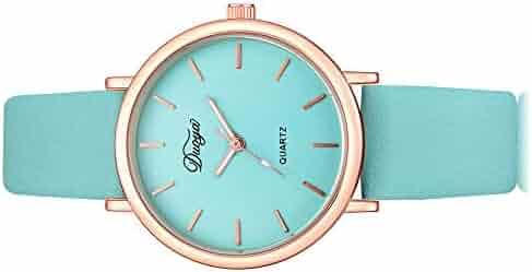 bda8586f2 Linmkey Fashion Women Men Couple Watch Rounded Colorful Analog Pointer  Quartz Watch Fashion Watches for Men