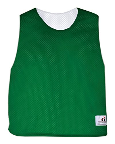 Kelly Green/White Ladies S/M Reversible LAX Practice Jersey Pinnies