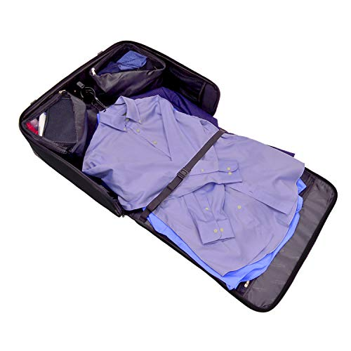 cd25001790ab Travel Select Amsterdam Rolling Garment Bag Wheeled Luggage - Import It All