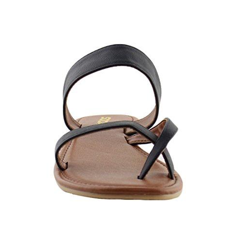 Pictures of SODA Shoes Women Flip Flops Flat Summer Deputy 4