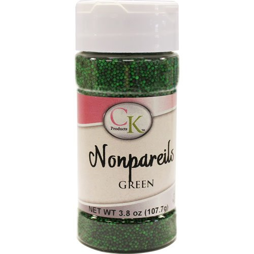 (CK Products 4 Ounce Non Pareils Bottle, Green )
