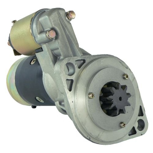 DB Electrical SHI0179 New Starter For Carrier Transicold Various Models All Years W Isuzu 2.2 Di, Thermo King 1996-On W Yanmar Diesel Engine, Kubota Tractor, Excavator 17 22 32 Hp 126486-77010 18490