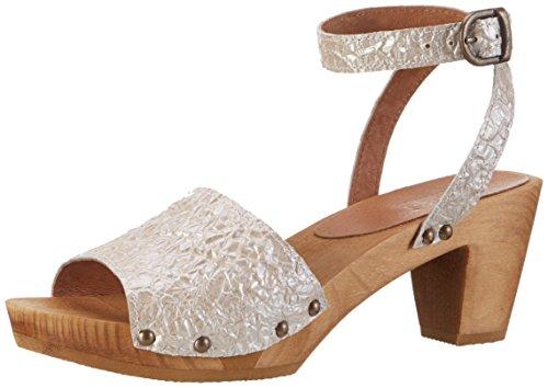 Sanita Birka Square Flex Sandal, Bride Cheville Femme Pink (Nude)