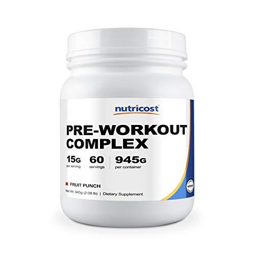 Nutricost Pre-Workout Complex Powder Fruit Punch (60 Serv)
