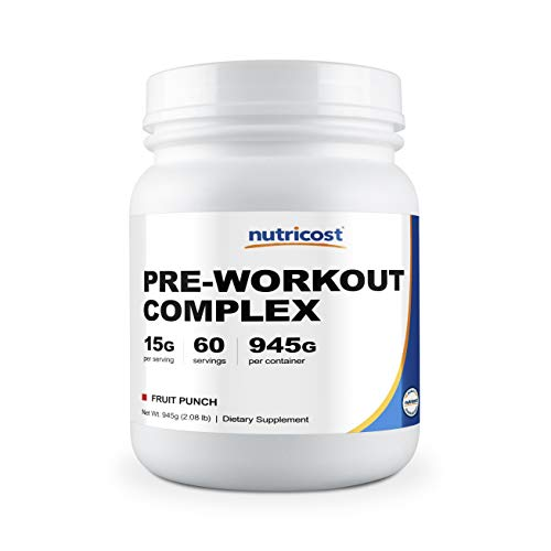 Nutricost Pre-Workout Complex Powder Fruit Punch 60 Serv