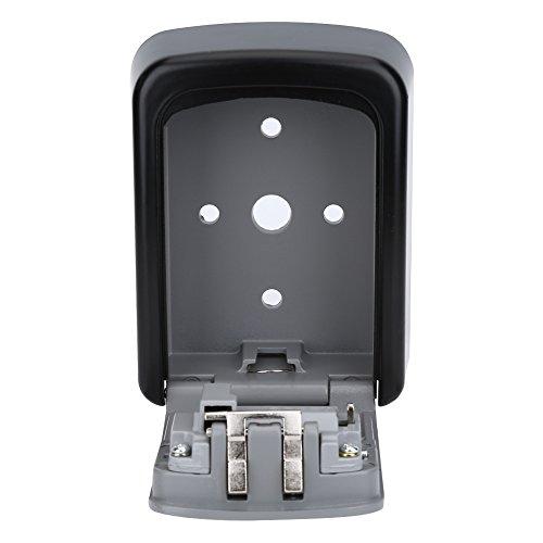 Vbestlife Key Storage Wall Mount Lock Box,4 Digit Combination Password Key Safety Code Keys Holder Storage Lock Box Case-Business Commercial Key Solid Lockbox for Indoor Outdoor by Vbestlife (Image #4)