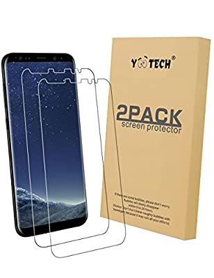Galaxy S8+ Screen Protector [2-Pack][Galaxy S8 plus,Not Glass], Yootech Galaxy S8+ Wet Applied Screen Protector BUBBLE-FREE for Samsung Galaxy S8 Plus