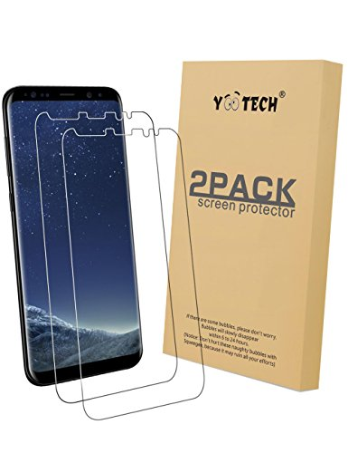 Galaxy S8 Plus Screen Protector [2-Pack][Not Glass], Yootech Galaxy S8 Plus Wet Applied Screen Protector BUBBLE-FREE for Samsung Galaxy S8 Plus[Galaxy S8+]