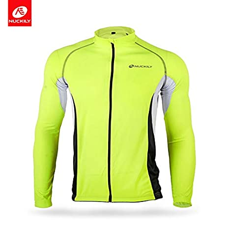 Mycycology Nuckily Mens Full Front Zip Short Sleeves Cycling Jersey (L) fbf9b4e5f