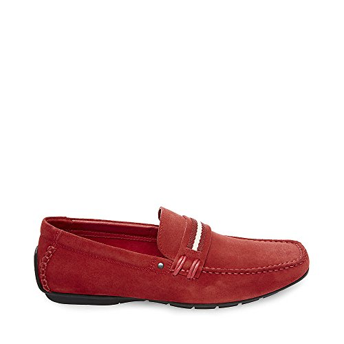 good selling online Steve Madden Men's Grab Slip-On Red Suede cheap low price cheap sale big sale outlet best place cheap sale online jyvdLhU5