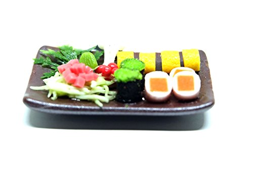 Dollhouse miniature Food,Tiny Food Collectibles (Breakfast Japanese Food)
