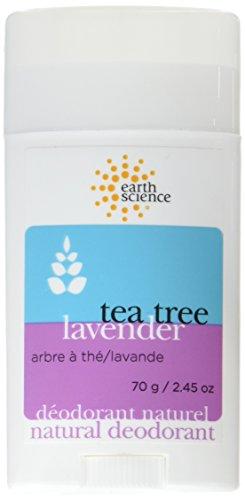 Earth Science Tea Tree and Lavender Deodorant, 2.5 Ounce - 6 per case