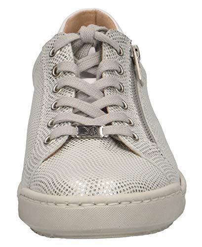 sneaker scarpe sportivo Caprice 22 Lacci scarpe 23650 Foil Calzado 963 Silver Da Stringate Strada scarpe Casuale elegante scarpe Desmontable Deportivo plantilla Con scarpe Co Mujer qZ7xXrwZ