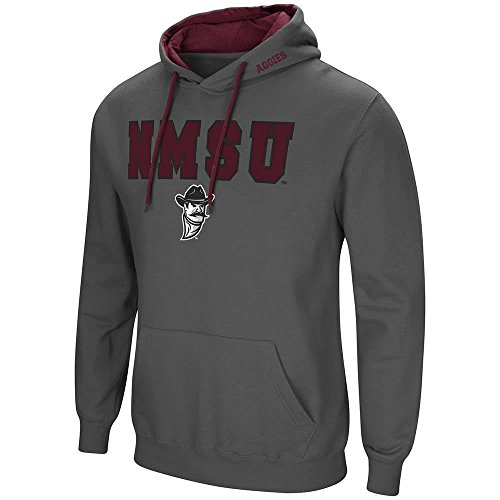 Colosseum Mens New Mexico State Aggies Pull-Over Hoodie - M
