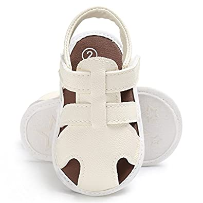 CoKate Infant Baby Boy Shoes Closed Toe Outdoor Beach Sandals for 0-18M