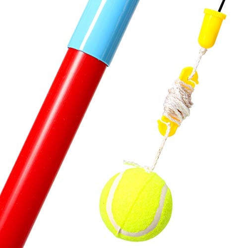 Anddoa Portable Tetherball Toys Kids Ball Game Children Outdoor Sport Play Fun Ball Set by Anddoa (Image #6)