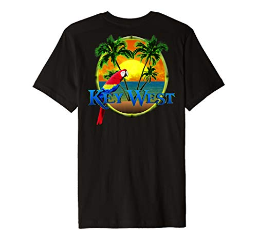 Key West Tropical Beach Vacation T-Shirt