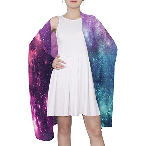 Woman Nebula e Alaza Galaxy Colorful Sciarpa Universe Multicolor Star di Light wq8Ewa4f