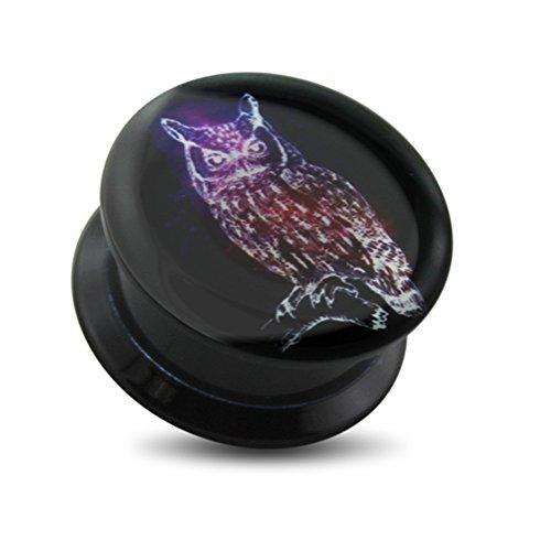 00 gauges plugs owl - 8