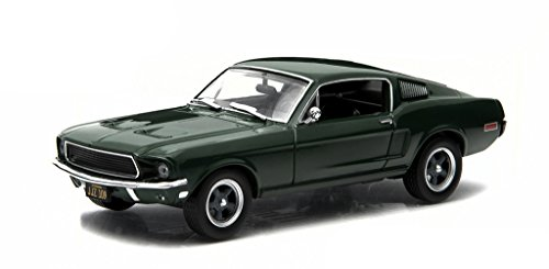 Bullitt Models (GreenLight Collectibles Hollywood Series 3 - Bullitt - 1968 Ford Mustang Die Cast Vehicle (1:43 Scale))
