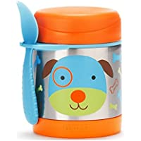 Skip Hop Zoo Insulated Stainless Steel Food Jar, Dog